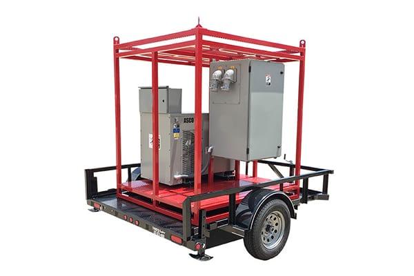 Portable Load Bank 100 KW Auto load bank transfer Distribution Panel