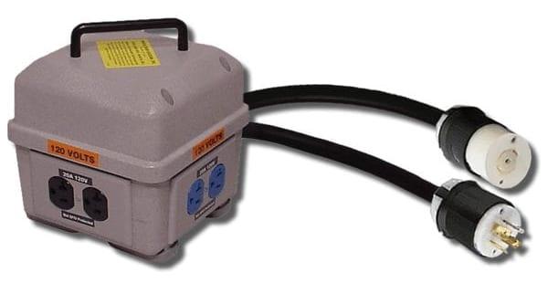 20-amp-three-gang-box-indoor-feed-thru-Power-Temp-Systems